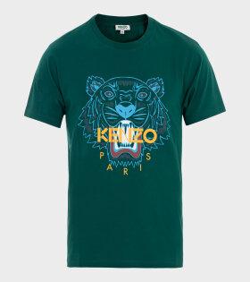 Kenzo - Classic Tiger Unisex T-shirt Green