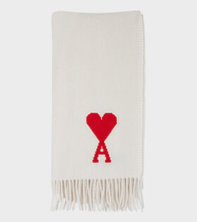 Echarpe A Franges Scarf Off-White