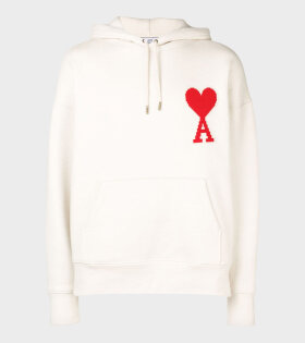 Big Patch Hoodie Off-White