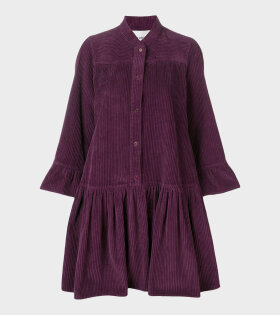 Henrik Vibskov - Lollo Rosso Dress Burgundy-violet