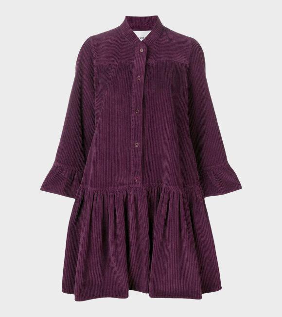 Henrik Vibskov - Lollo Rosso Dress Burgundy-violet