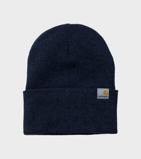 Carhartt Playoff Beanie Dark Navy - dr. Adams