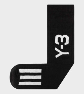 Y-3 - Y-3 Nye Sock Black