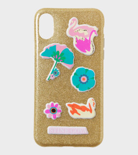 Molly Iphone Cover X Gold