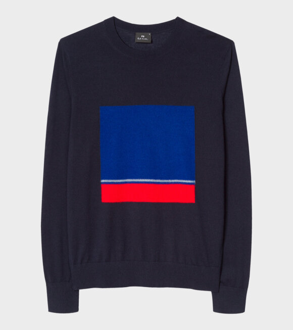 Paul Smith - Navy Wool-Blend Sweater Dark Navy