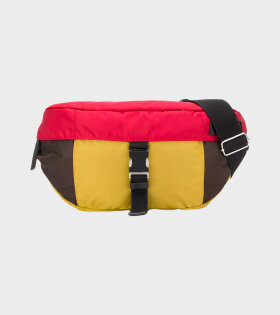 Marni Belt Bag in Nylon Mustard/Brown/Red - dr. Adams