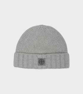 Stone Island Knitted Beanie Grey - dr. Adams