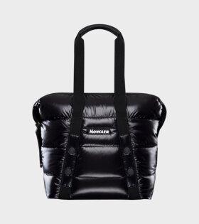 Moncler Marne Shopping Bag Black - dr. Adams