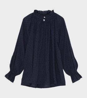 Moonlight Shirt Navy & Gold