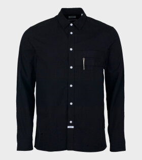 Kenzo Zipped Pocket Casual Shirt Black - dr. Adams