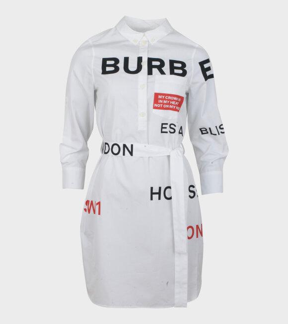 Burberry - Kiley Dress White