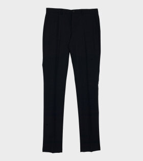 Paul Smith Mens Trousers Mid Fit Black - dr. Adams