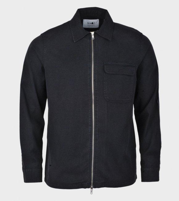 NN07 - Alf Zip Jacket Navy Blue