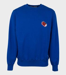 Marni Sweatshirt Cobalt Blue - dr. Adams