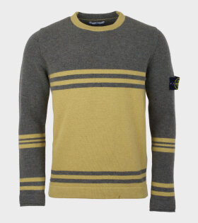 Stone Island Wool Knit Green - dr. Adams