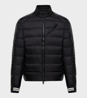 Moncler Brel Down Jacket Black - dr. Adams