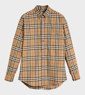 Burberry Jameson Antique Shirt Brown - dr. Adams