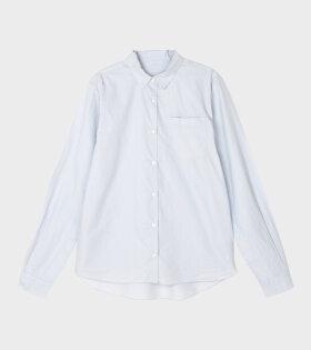 Organic Shirt Essential Blue Glas
