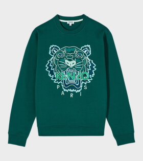 Kenzo - Tonal Tiger Sweat Green