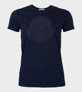 Moncler Girocollo T-shirt Navy - dr. Adams