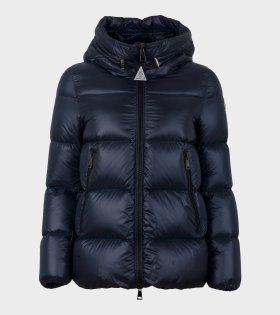 Moncler Seritte Giubbotto Down Jacket Dark Navy - dr. Adams