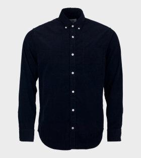 NN07 Levon Shirt Dark Navy - dr. Adams