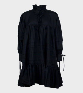 Cecilie Bahnsen Macy Dress Black - dr. Adams