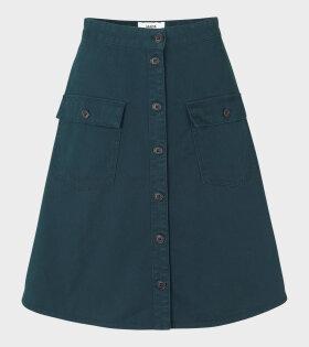 Carpentina Starpa Skirt Dark Petrol