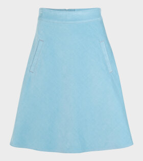 Sky Cord Stelly Skirt Cloudy