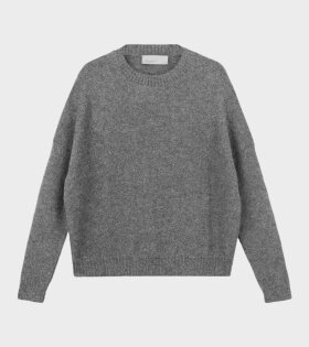 Aiayu Juna Sweatshirt Stormy Grey - dr. Adams