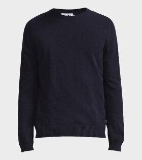 Edward Knitwear Navy Blue