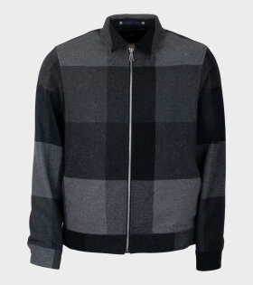 Paul Smith Zip Jacket Black/Grey - dr. Adams