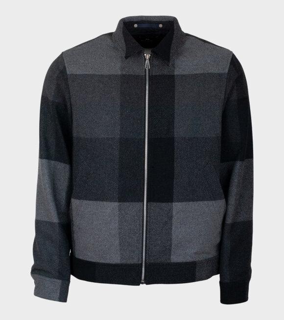 Zip Jacket Black/Grey