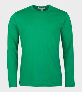 Comme Des Garçons Shirt Longsleeved T-shirt Green - dr. Adams