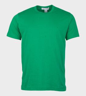 Comme Des Garçons Shirt T-shirt Green - dr. Adams
