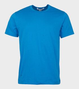 Comme Des Garçons Shirt T-shirt Blue - dr. Adams
