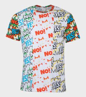 Comme Des Garçons Shirt T-shirt Multicolor - dr. Adams