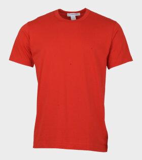 Comme Des Garçons Shirt T-shirt Red - dr. Adams