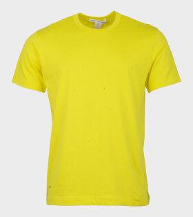 Comme Des Garçons Shirt T-shirt Yellow - dr. Adams