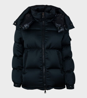 Moncler Wil Giubbotto Jacket Black - dr. Adams