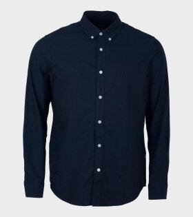 Oxford Sawsett Shirt Dark Navy