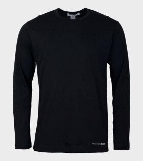 Comme des Garcons SHIRT Longsleeved T-shirt Black