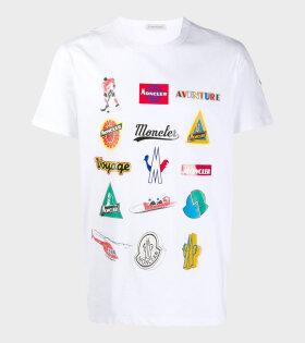 Moncler Maglia T-shirt White - dr. Adams