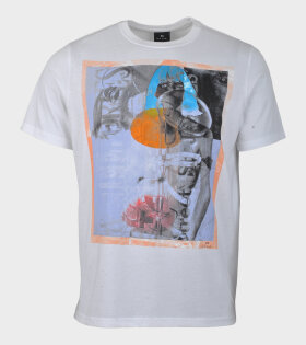 Paul Smith M2R Print T-shirt White - dr. Adams