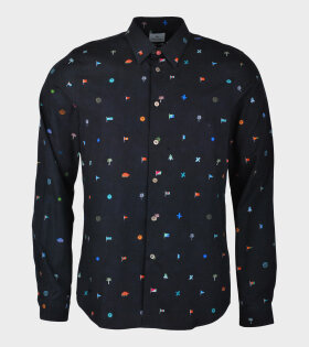 Paul Smith M2R Dan Shirt Blue - dr. Adams