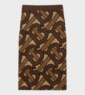 Burberry Nabiti Bridle Skirt Brown - dr. Adams