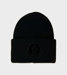 Moncler BERRETTO TRICOT Black - dr. Adams