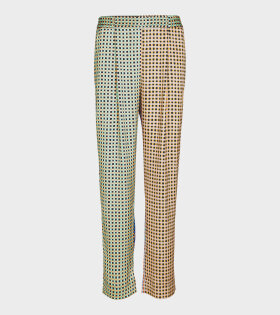 Stine Goya Jelena Gingham Poly Pants Multicolor - dr. Adams