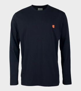 Tonsure David Shirt Navy Blue - dr. Adams