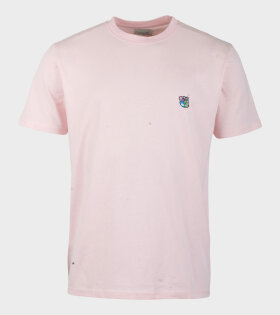 Tonsure Frank T-shirt Pink - dr. Adams